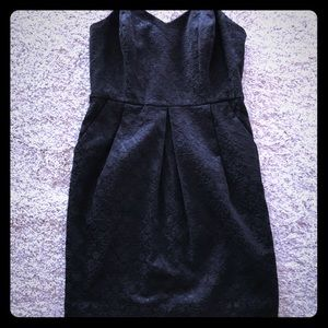 Silence + Noise Strapless Jacquard Dress size 2